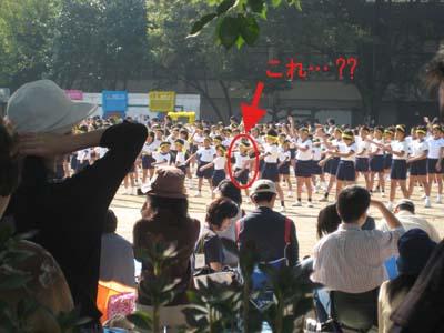 運動会のラジオ体操