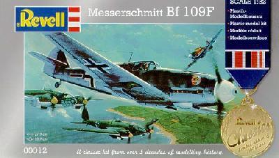 1/32 メッサーシュミット Bf109F【レベル00012】