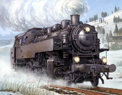 1/35 ドイツ鉄道公社 蒸気機関車BR86