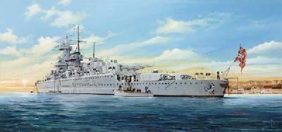 1/350 独海軍ポケット戦艦アドミラル・グラーフ・シュペー