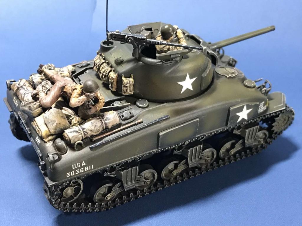 1/48 M4A1シャーマン/タミヤ32523/