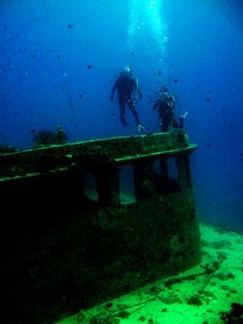 カラカラ沈船