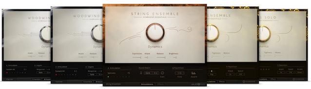 SYMPHONY ESSENTIALS (KOMPLETE ULTIMATE 11)