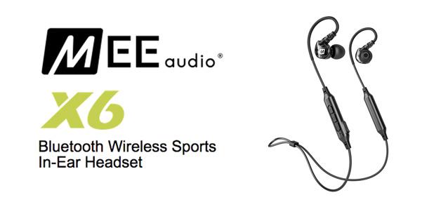 大人気Bluetoothイヤホンがアップデート!MEE Audio X6!   宮地