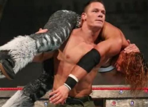 WWEの噂・裏技・裏話_ジョン・シナ「アティテュード・アジャストメント」