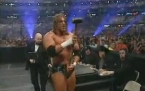 WWEの噂・裏技・裏話_レッスルマニア27、トリプルH対アンダーテイカー