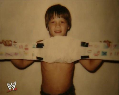 WWEの噂・裏技・裏話_少年時代のジョン・シナ