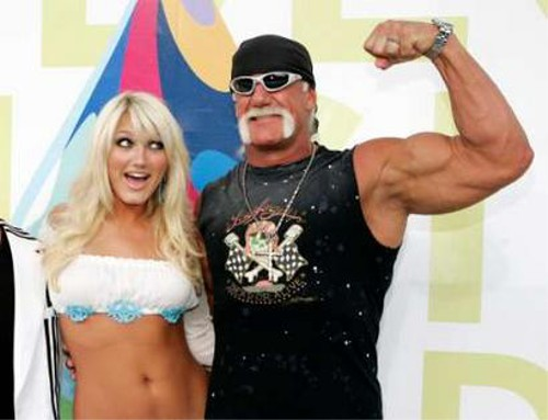 WWEの噂・裏技・裏話_ハルク・ホーガンとブルック・ホーガン
