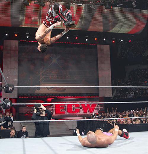 WWEの噂・裏技・裏話_エア・ボーン