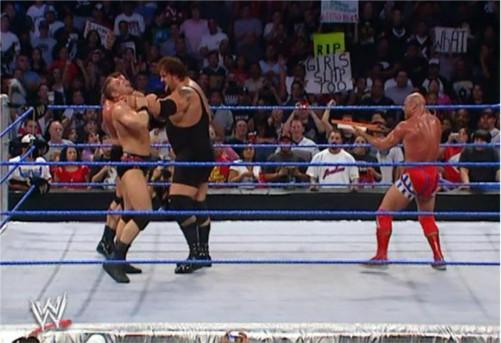 WWEの噂・裏技・裏話_ビッグ・ショーとカート・アングル