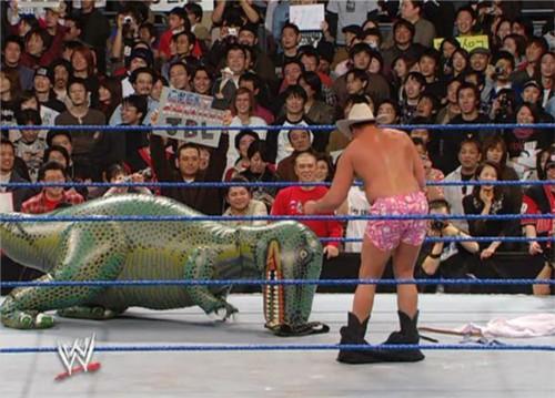 WWEの噂・裏技・裏話_JBL対ゴジラ