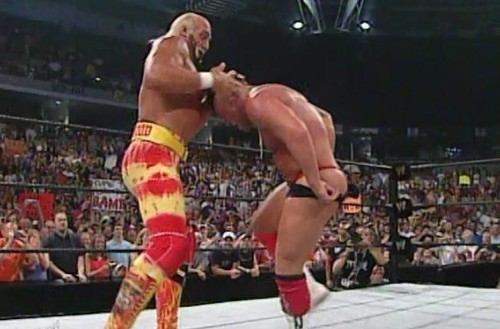 WWEの噂・裏技・裏話_ハルクホーガンにカツラを取られるカート・アングル