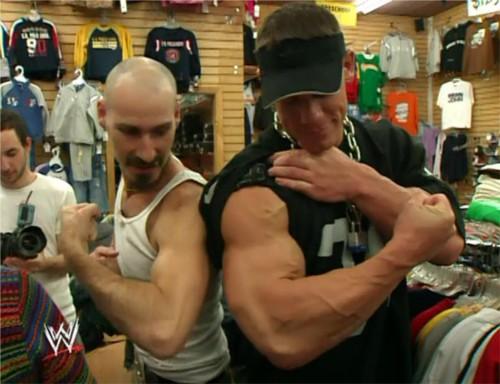 WWEの噂・裏技・裏話_ジョン・シナの腕
