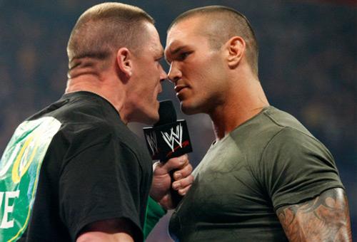 WWEの噂・裏技・裏話_ジョン・シナとランディ・オートン