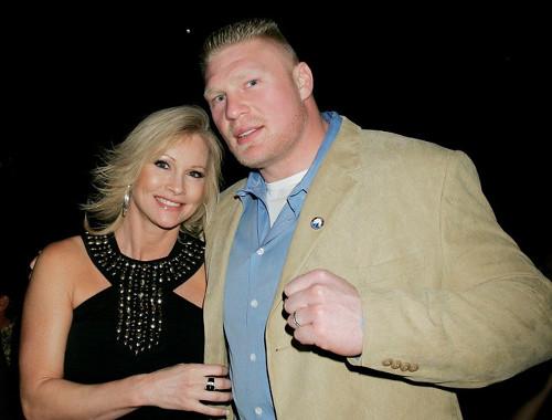 WWEの噂・裏技・裏話_ブロック・レスナーと妻のセイブル