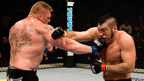 WWEの噂・裏技・裏話_UFC時代のブロック・レスナー