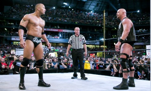 WWEの噂・裏技・裏話_ロック対ストーンコールド・スティーブ・オースチン
