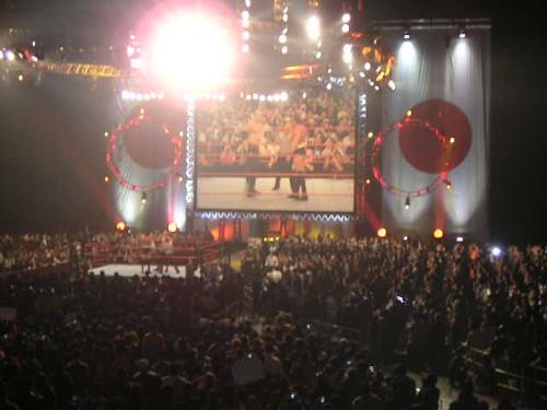 WWEの噂・裏技・裏話_2005年の日本公演(アジア初のテレビショー)