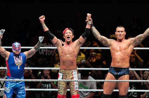 WWEの噂・裏技・裏話_ランディ・オートン、レイ・ミステリオ、ヨシ・タツのタッグチーム