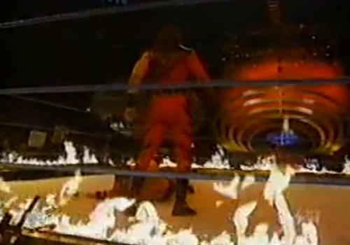 WWEの噂・裏技・裏話_相手を燃やしたら勝ちのインフェルノ・マッチ