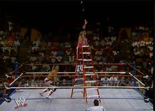 WWEの噂・裏技・裏話_WWE史上初めてラダーマッチをしたスーパースター