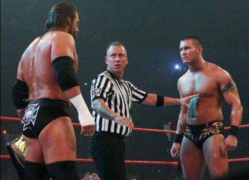 WWEの噂・裏技・裏話_ノーマーシー2007で2度もWWE王座を獲得したランディ・オートン