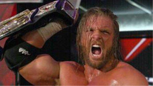 WWEの噂・裏技・裏話_1日に3試合もWWE王座戦を戦ったトリプルH