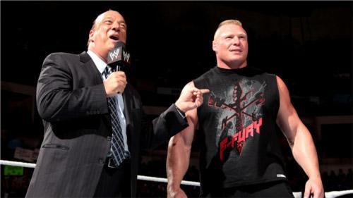 WWEの噂・裏技・裏話_ブロック・レスナーはポール・ヘイマンに裏切られたことがある