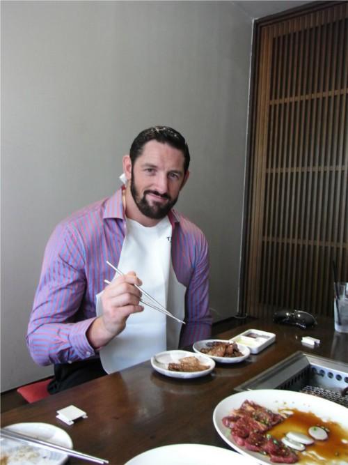 WWEの噂・裏技・裏話_ウェイド・バレットが来日して箸使いに苦戦