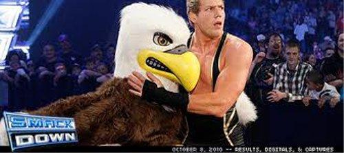 WWEの噂・裏技・裏話_ジャック・スワガーとワシのマスコット