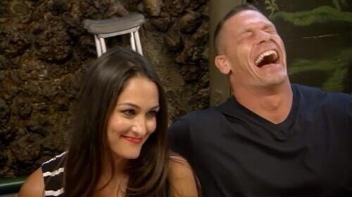 WWEの噂・裏技・裏話_ジョン・シナとニッキー・ベラがラブラブ