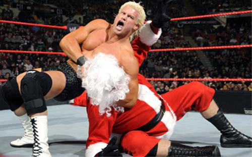 WWEの噂・裏技・裏話_メリークリスマス!サンタクロースなスーパースター達