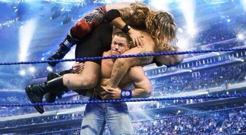 WWEの噂・裏技・裏話_ジョン・シナのパワーが一目で分かる写真