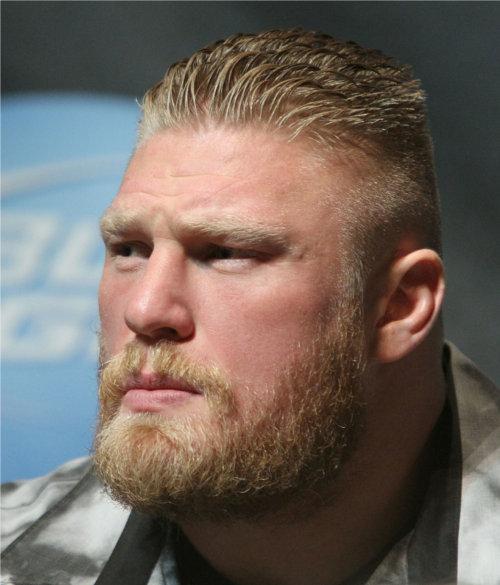 WWEの噂・裏技・裏話_ブロック・レスナーはダニエル・ブライアンに負けないような立派なヒゲを生やしていたことがある