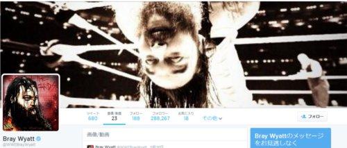 WWEの噂・裏技・裏話_ブレイ・ワイアットのTwitterカバー写真が怖すぎる