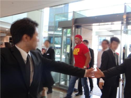 WWEの噂・裏技・裏話_某ホテルでスーパースターに会ってみた