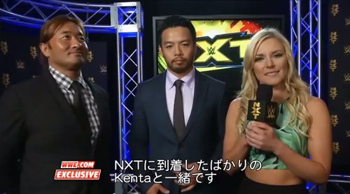 WWEの噂・裏技・裏話_WWEでKENTA 初取材!その様子が字幕版で公開される