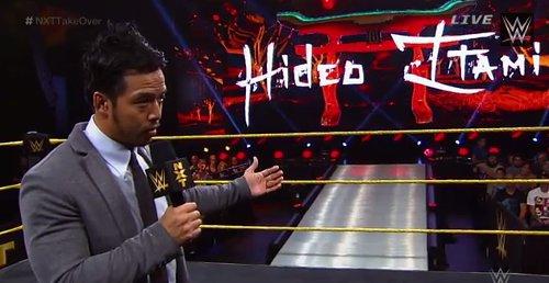 WWEの噂・裏技・裏話_ついにKENTAがWWEデビュー!リングネームは「ヒデオ・イタミ」