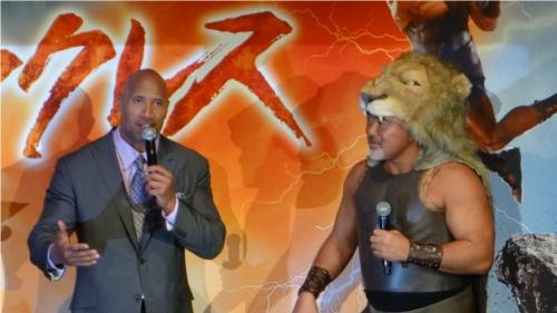 WWEの噂・裏技・裏話_ザ・ロックは「ヘラクレス」の撮影が始まる6週間前に大怪我をしていた