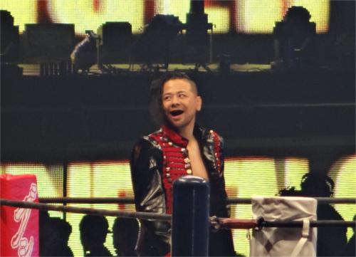 WWEへの移籍が噂される中邑真輔