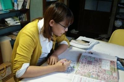 飯村さん校正作業