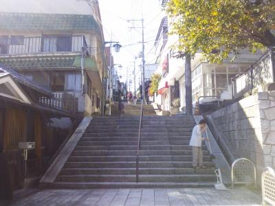 宝山寺参道1