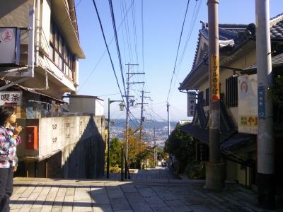 宝山寺参道2