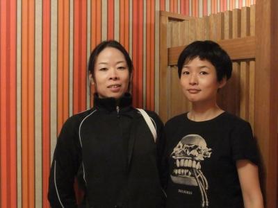 左)栗田咲子さん、右)村田典子さん
