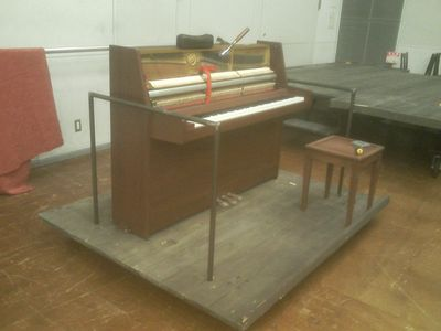 回転ピアノ
