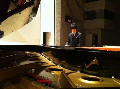 2台ピアノの調律