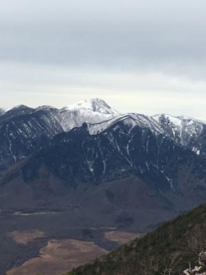 2016年11月10日の男体山登山