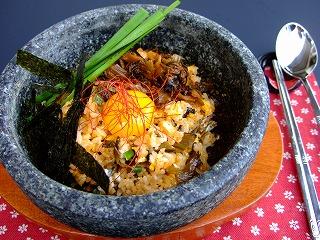 辛子高菜石焼ビビンバ