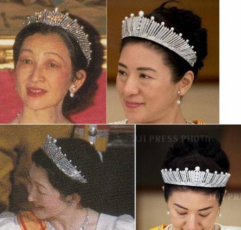 気のせいか、輝きが皇后美智子さまの頃より鈍い、と感じるのは僕だけでしょうか、、。幾分透明感に欠け、白っぽい気がします、、。