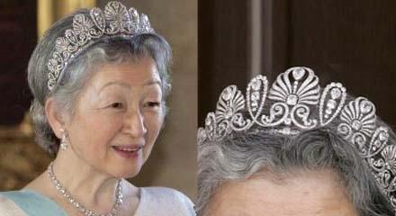 「皇后 第二ティアラ」の画像検索結果